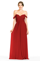 Bari Jay Bridesmaid Dress 1803 - Red
