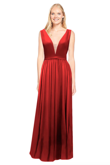 Bari Jay Bridesmaid Dress 2034 - Red