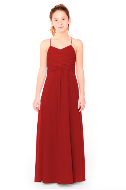 Bari Jay Junior Bridesmaid Dress 1962 - Red