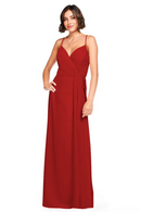 Bari Jay Bridesmaid Dress 2026 - Red