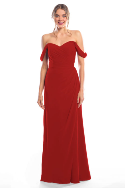Bari Jay Bridesmaid Dress 2080 - Red