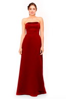 Bari Jay Bridesmaid Dress 1975 - Red
