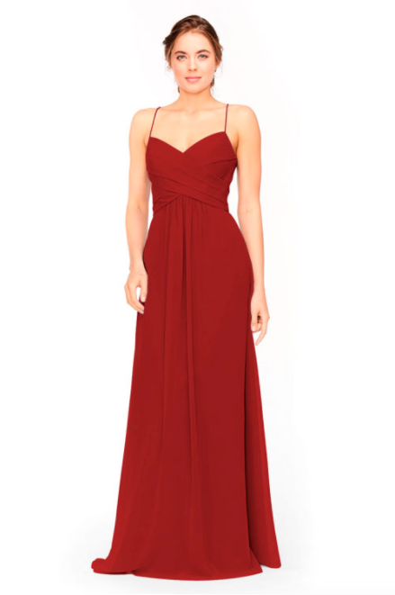 Bari Jay Bridesmaid Dress 1962 -Red