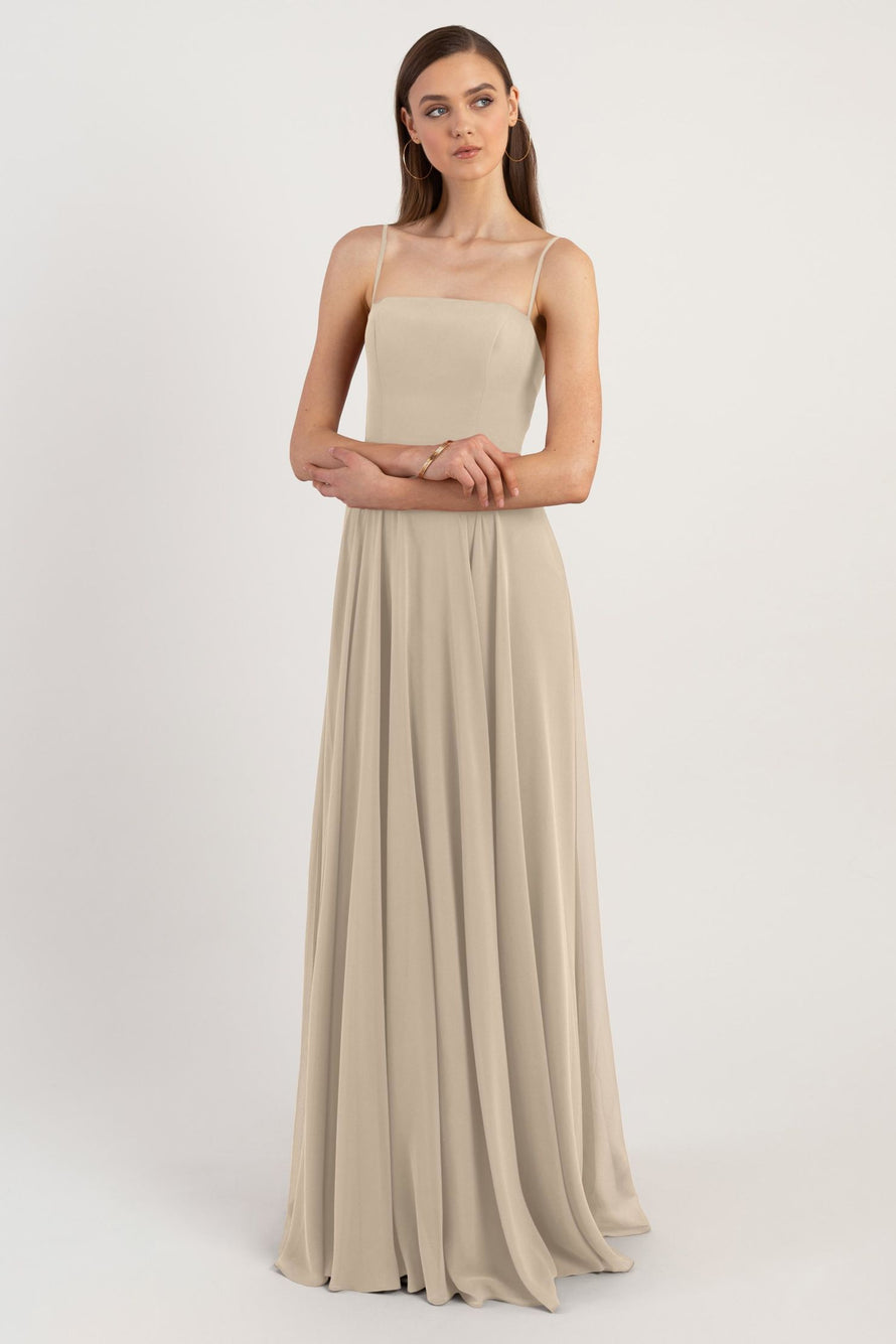 Jenny Yoo Long Bridesmaid Dress Renee