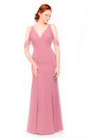 Bari Jay Bridesmaid Dress 1972 - Rose
