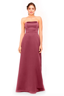 Bari Jay Bridesmaid Dress 1975 - Rose