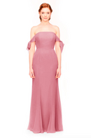 Bari Jay Bridesmaid Dress 1974 - Rose