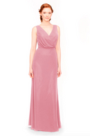 Bari Jay Bridesmaid Dress 1970 -Rose