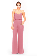 Bari Jay Jumpsuit Bridesmaid Dress 1964 - Rose