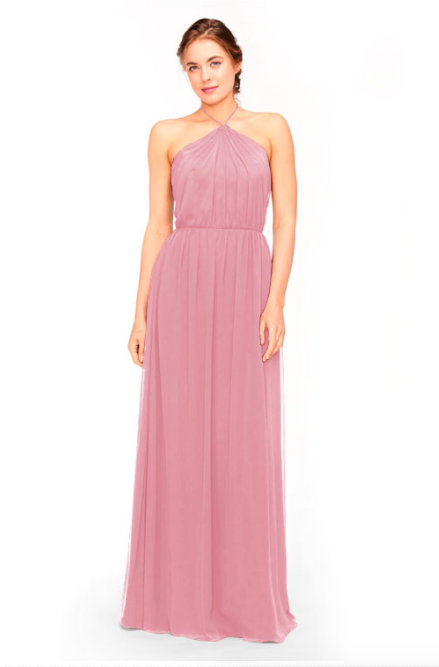 Bari Jay Bridesmaid Dress 1969 - Rose