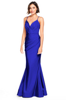 Bari Jay Bridesmaid Dress 2000 -Royal
