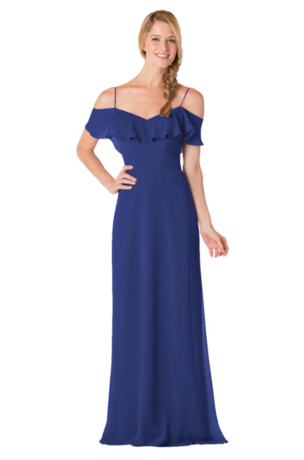 Bari Jay Bridesmaid Dress - 1730-Royal_