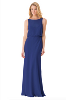 Bari Jay Bridesmaid Dress - 1661-Royal