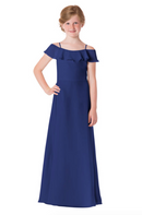 Bari Jay Junior Bridesmaid Dress - 1730(JR)-Royal