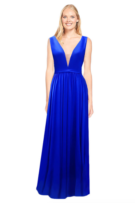 Bari Jay Bridesmaid Dress 2034 - Royal