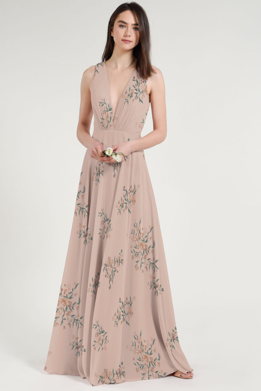 Jenny Yoo Bridesmaid Dress Ryan Print
