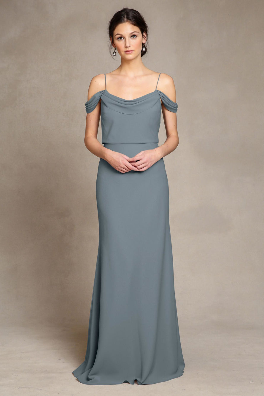 Jenny Yoo Long Bridesmaid Dress Sabine