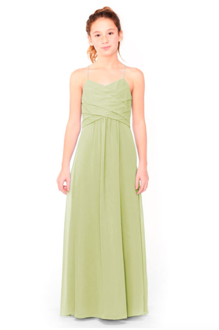 Bari Jay Junior Bridesmaid Dress 1962 - Sage