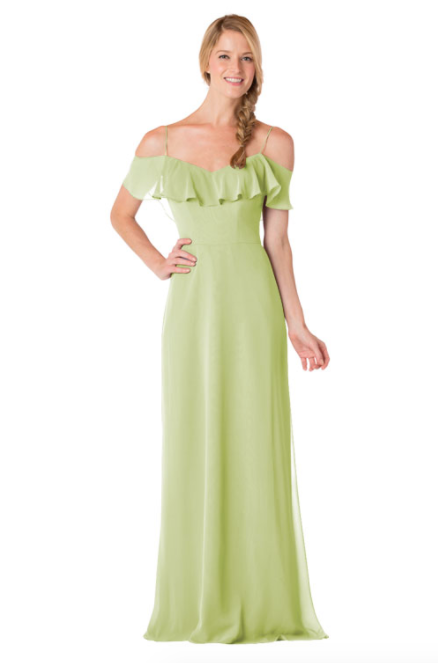 Bari Jay Bridesmaid Dress - 1730-Sage