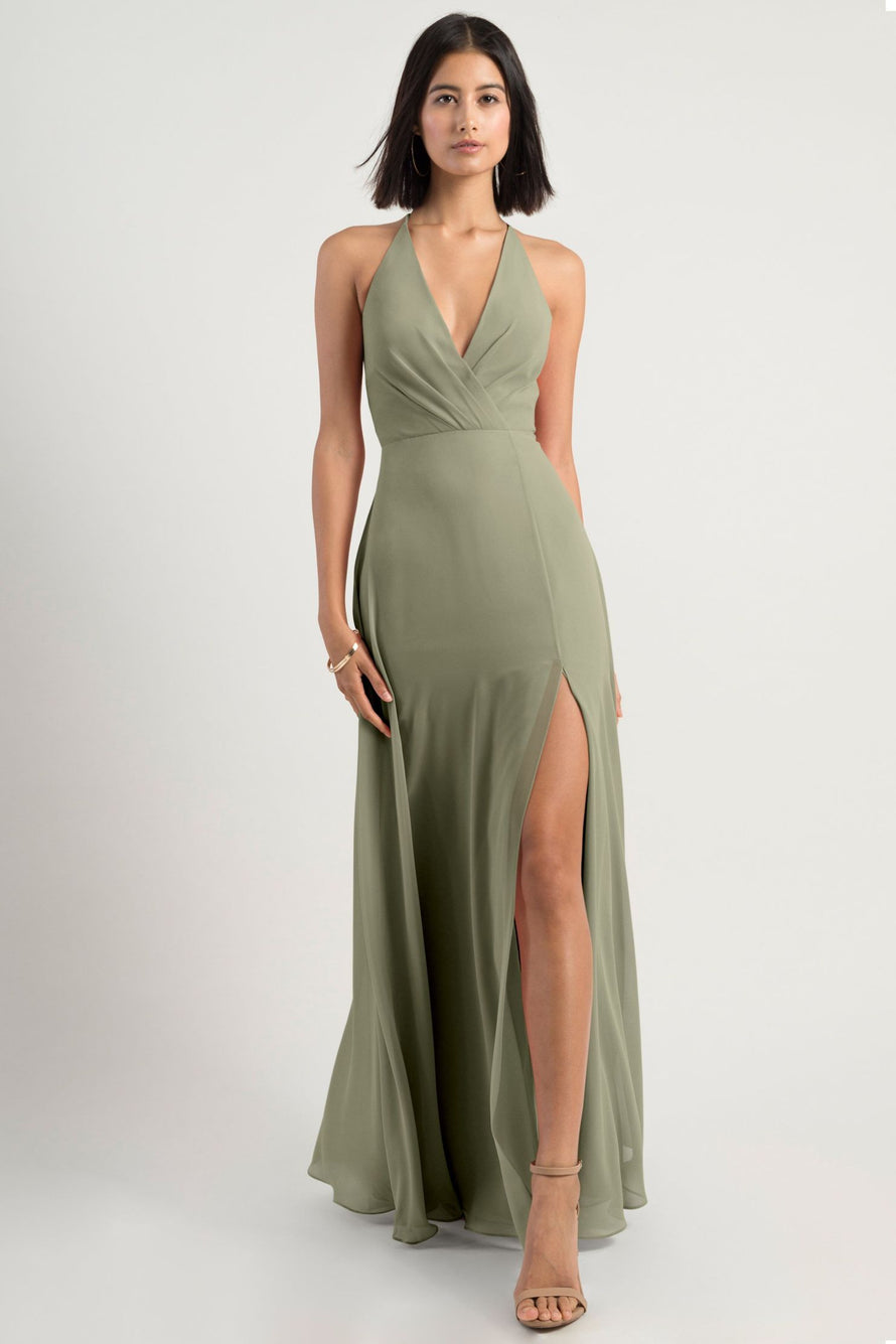 Jenny Yoo Bridesmaid Dress Bryce sage
