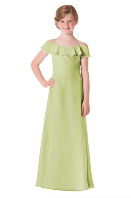 Bari Jay Junior Bridesmaid Dress - 1730(JR)-Sage_