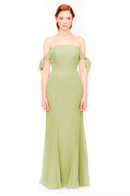 Bari Jay Bridesmaid Dress 1974 - Sage