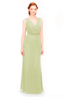 Bari Jay Bridesmaid Dress 1970 -Sage