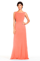Bari Jay Bridesmaid Dress 1818 -Salmon