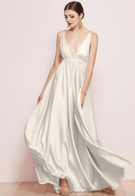 Watters Bridesmaid Dress Quentin ivory