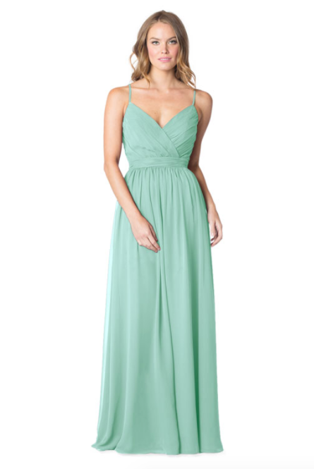 Bari Jay Bridesmaid Dress - 1606 IC-Sea