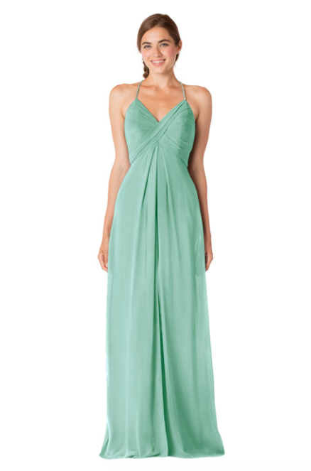 Bari Jay Bridesmaid Dress - 1723 IC-Sea