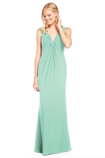 Bari Jay Bridesmaid Dress 2011 -Seaglass