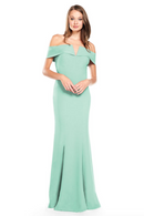 Bari Jay Bridesmaid Dress 2014 -Seaglass