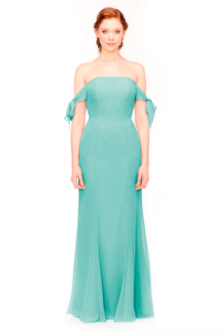 Bari Jay Bridesmaid Dress 1974 - Seamist