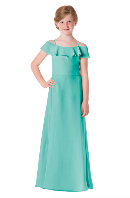 Bari Jay Junior Bridesmaid Dress - 1730(JR)-Seamist