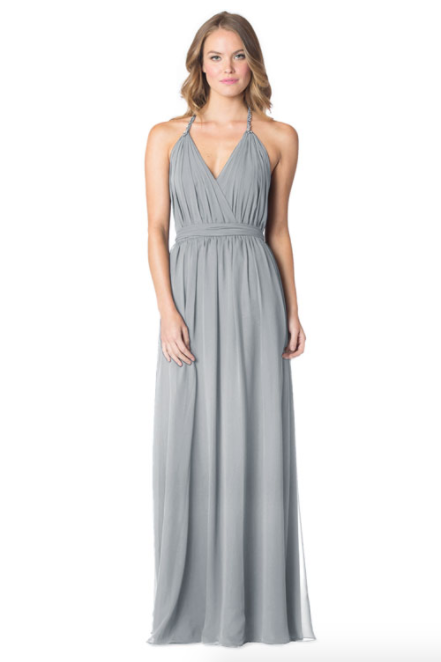 Shadow-Bari Jay Bridesmaid Dress - 1600