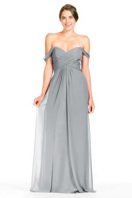 Bari Jay Bridesmaid Dress 1803 - Shadow