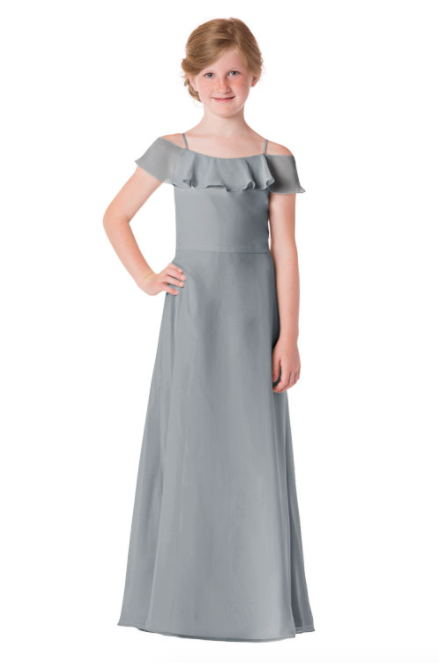 Bari Jay Junior Bridesmaid Dress - 1730(JR)-Shadow_