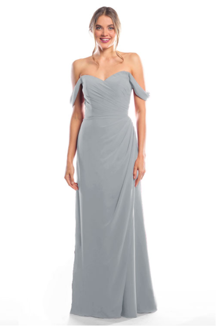 Bari Jay Bridesmaid Dress 2080 - Shadow