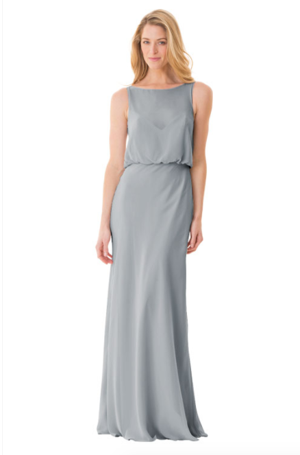 Bari Jay Bridesmaid Dress - 1661-Shadow