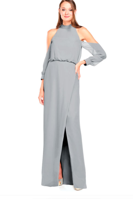 Bari Jay Bridesmaid Dress 2028 - Shadow