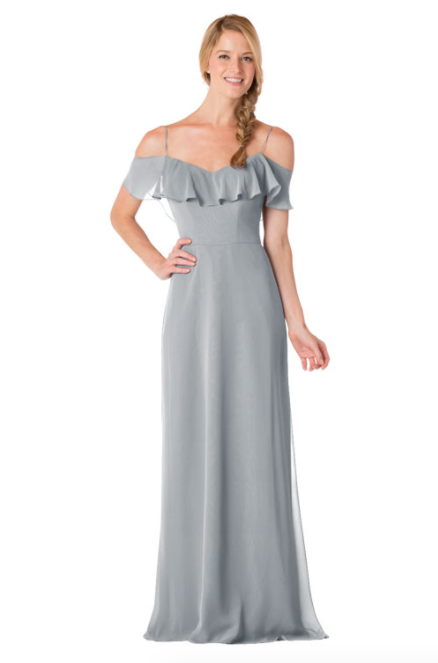 Bari Jay Bridesmaid Dress - 1730-Shadow