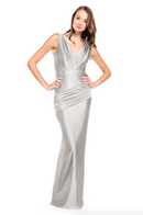 Bari Jay Bridesmaid Dress - 2006 Silver