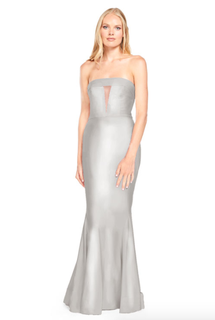 Bari Jay Bridesmaid Dress - 2008 Silver