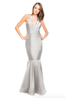 Bari Jay Bridesmaid Dress - 2009 Silver