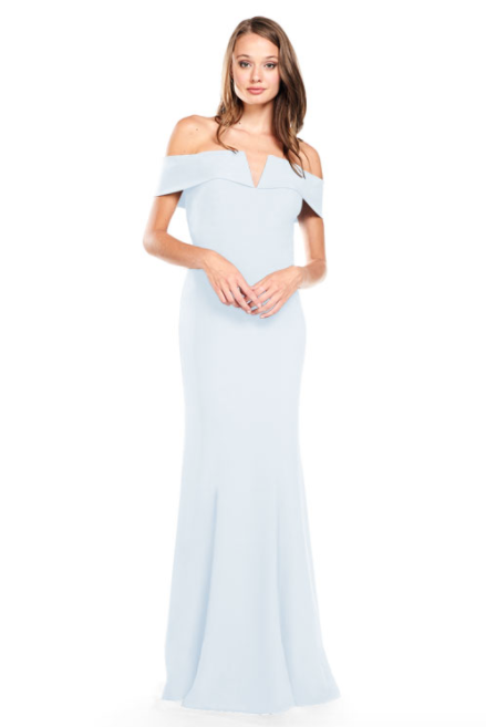 Bari Jay Bridesmaid Dress 2014 -SilverFrost
