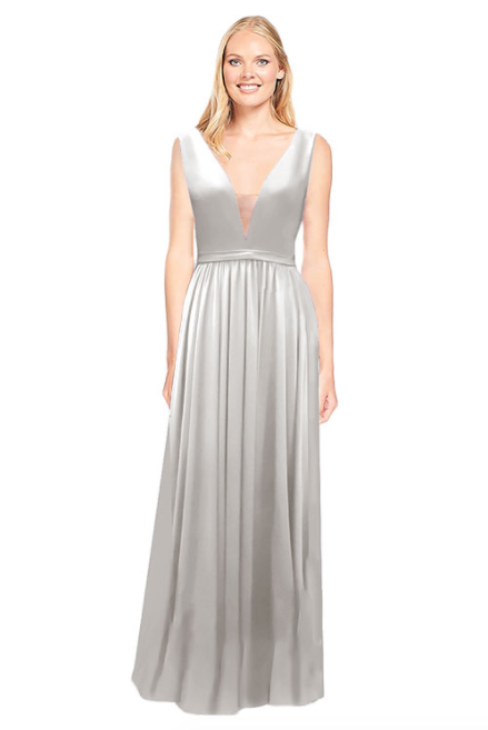 Bari Jay Bridesmaid Dress 2034 - Silver