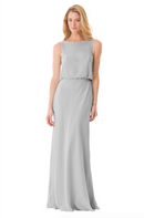 Bari Jay Bridesmaid Dress - 1661-Silvercee