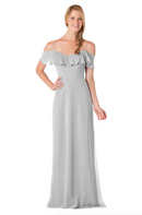 Bari Jay Bridesmaid Dress - 1730-Silvercee
