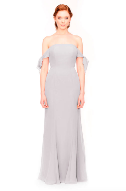 Bari Jay Bridesmaid Dress 1974 - Silvercee